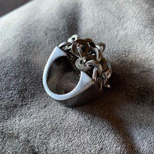 Pianegonda Brand Authentic Italian Designer Ring